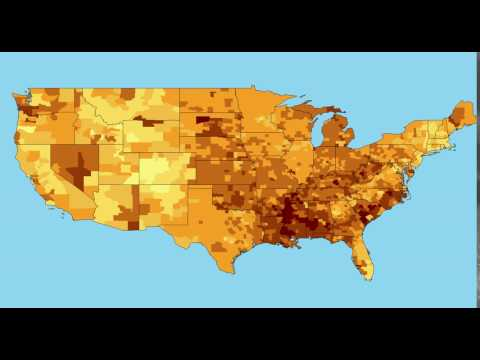 Obesity in the United states over 9 years time (2004-2013)