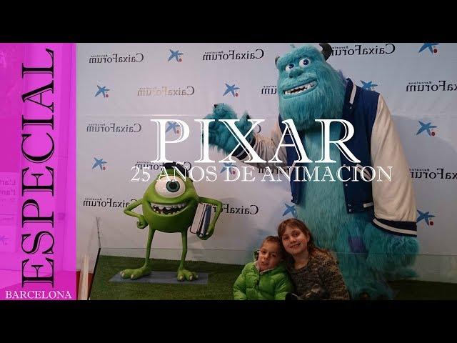 Exposición PIXAR 25 años de animación
