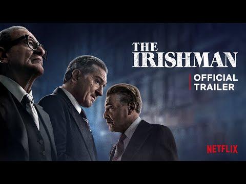The Irishman trailers