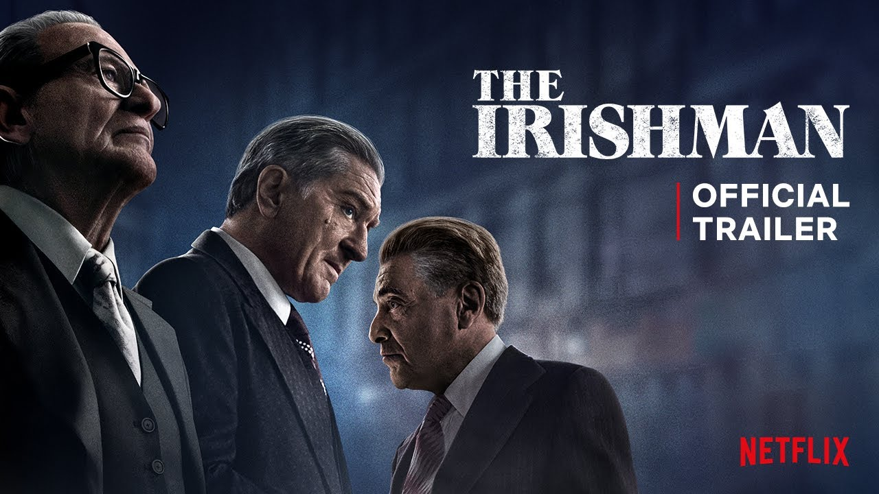The Irishman | Official Trailer | Netflix - YouTube