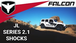 Falcon Shocks: JLU 2.1 Monotube Shocks