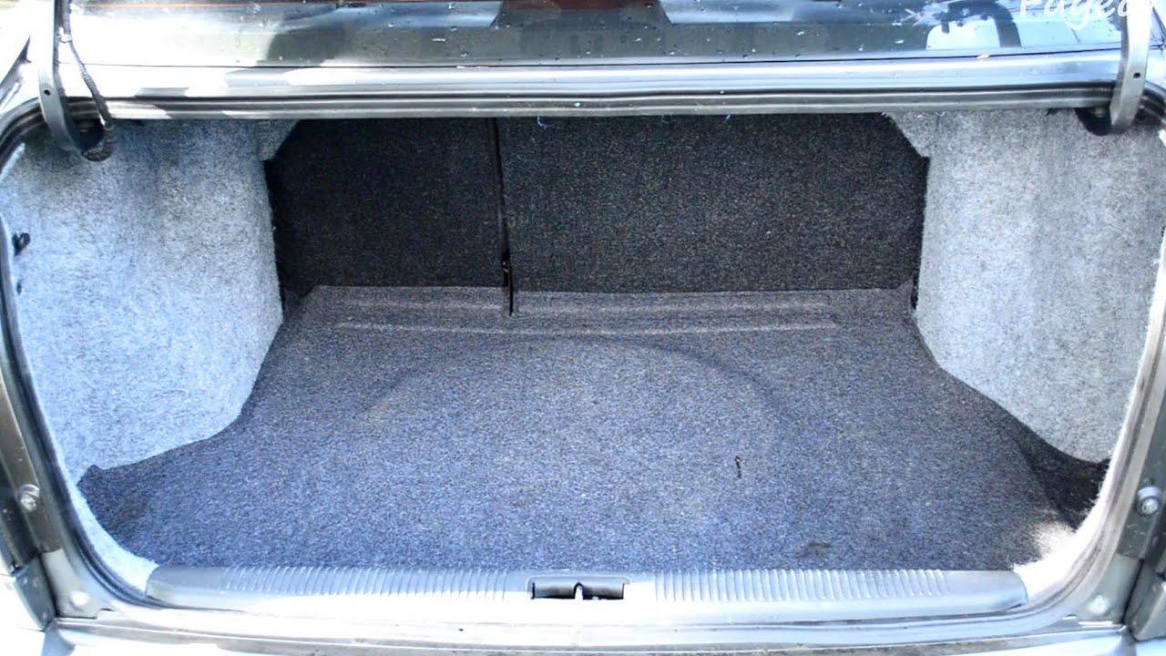 замена освещения в багажнике hyundai accent