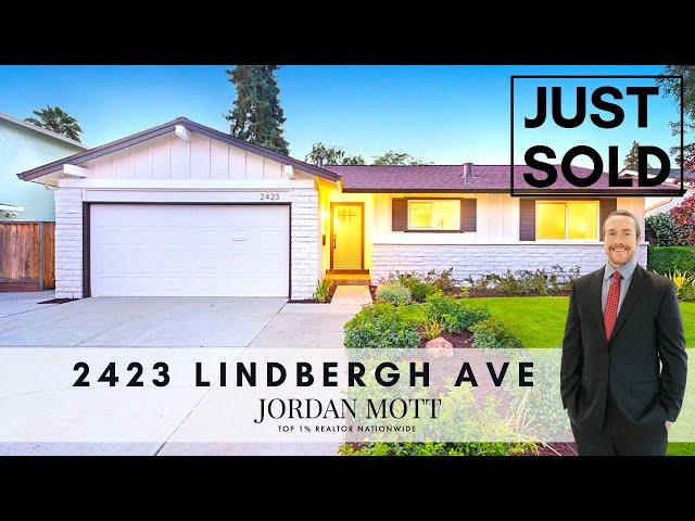 Just Sold in San Jose   2423 Lindbergh Ave, San Jose CA 95128   Jordan Mott