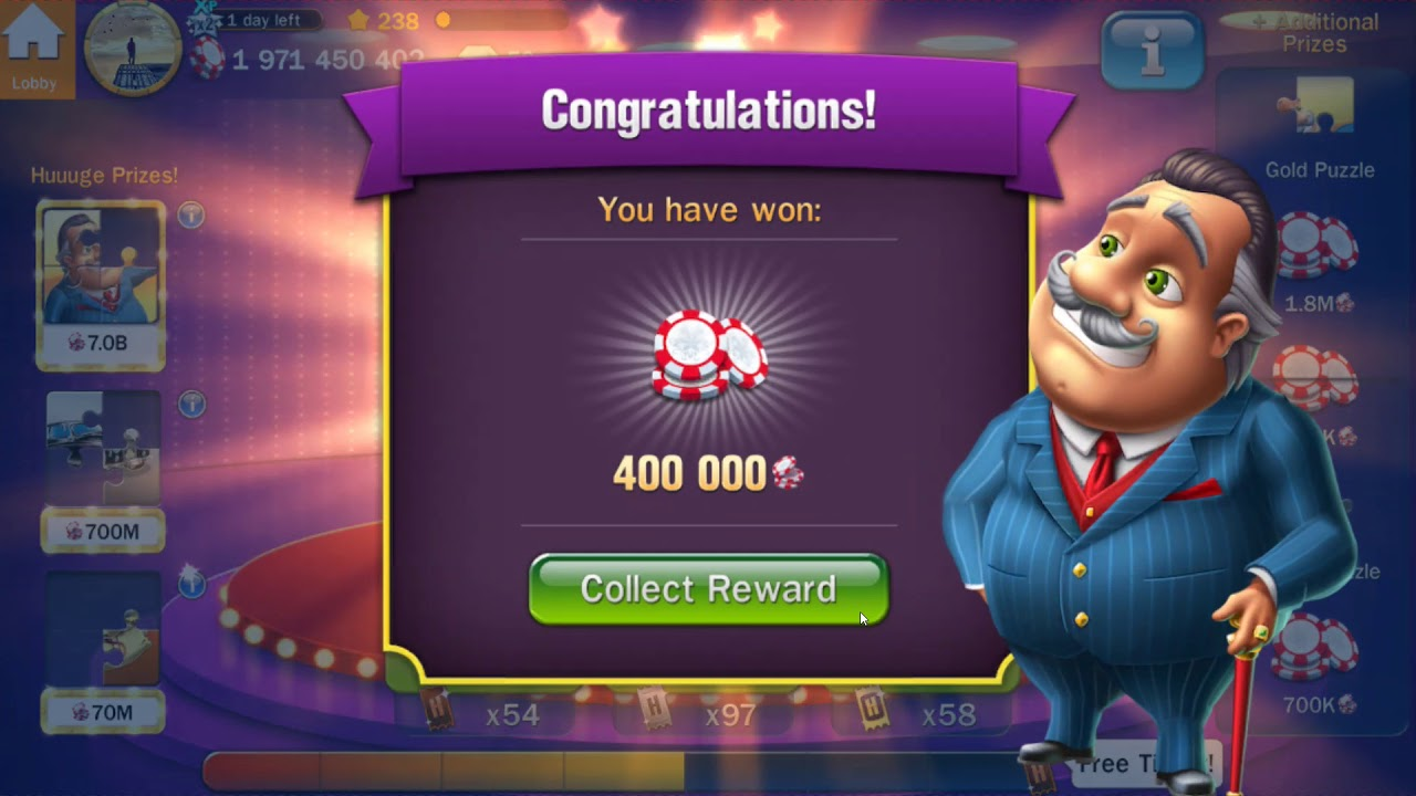 Billionaire Casino Free Gold Tickets
