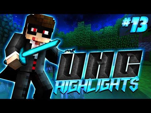Minecraft UHC Highlights #13: Lighting it up (w/ Barcode & Fin)