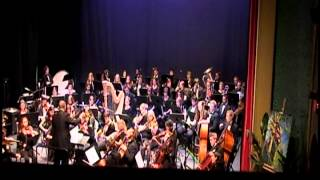 Ethan - Treasure Coast Youth Symphony - 04/23/12 - Toccata & Fugue in D minor - Bach
