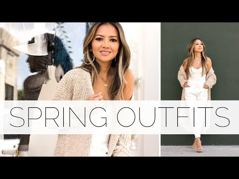 Spring Outfits- All White