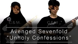 Avenged Sevenfold - Unholy Confession [Blindfold Guitar Cover]