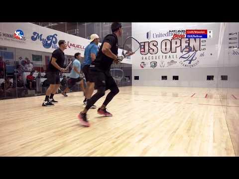 2019 US OPEN Doubles Final: Daniel De La Rosa/Alvaro Beltran Vs. Kane Waselenchuk/Ben Croft