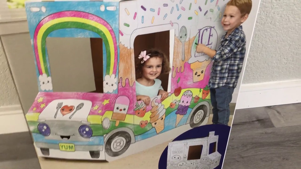 Cardboard Food Truck By Creatology - Pretend Play - Review/Overview