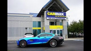 What's My Chrome AMG GTS Worth To Carmax?