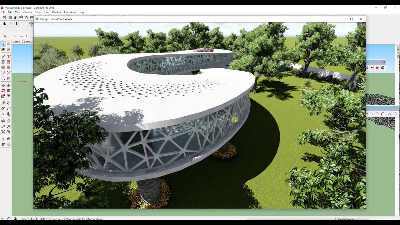 Simple Interior Design Software Sketchup Shape Bender Speed Modeling Curve Forms
