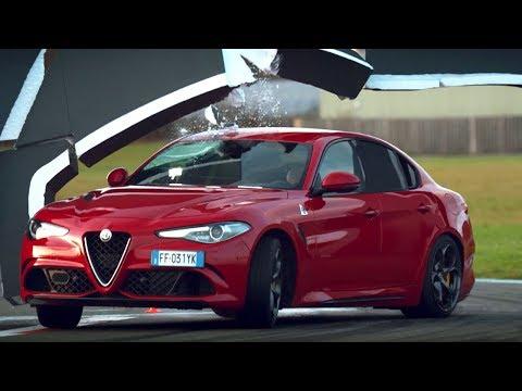 The Alfa Romeo Giulia Wall Challenge - Top Gear Series 24 - Top Gear - BBC
