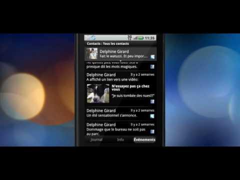 Motorola Dext - Motoblur - Contact