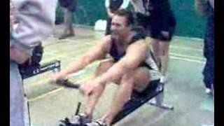 Indoor Rowing 100m WR Rob Smith
