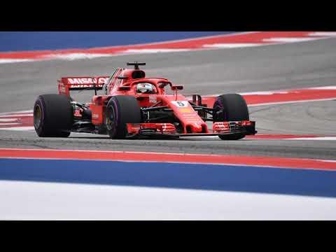 Sebastian Vettel congratulates Kimi Raikkonen on team radio - F1 2018 Austin