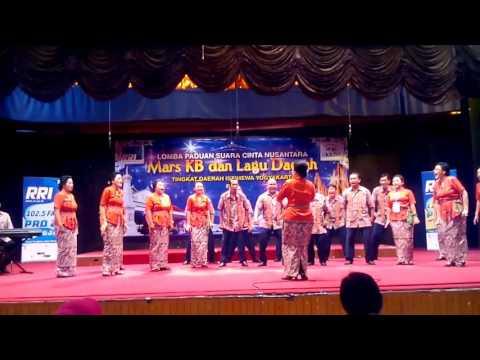 Mars KB dan Gundul-gundul Pacul Gita Bahana Balecatur Choir