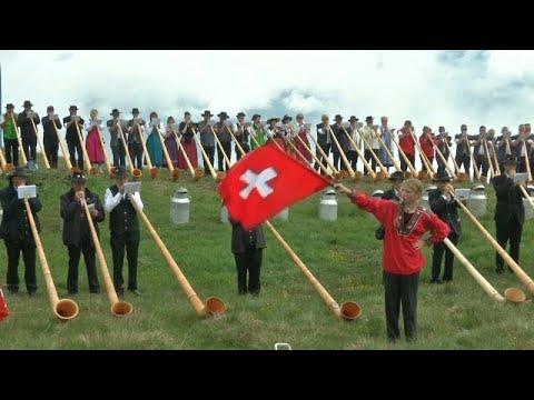 سويسرا تحتفل بالبوق في أكبر مهرجان عالمي  - نشر قبل 7 ساعة
