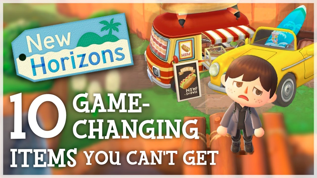 Animal Crossing New Horizons - 10 GAME-CHANGING Items You STILL Can't Get