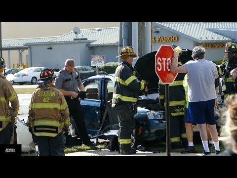 East Windsor: Woman Extricated From Her Car After Accident.9/27/17