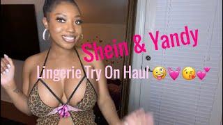 Try On Haul Nightie Lingerie Shein