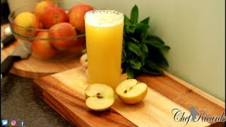 Gambar cover Fresh Apple Juice Amazing Juice With Ginger Honey Lemon Raw Apple Juice ! | Recipes By Chef Ricardo
