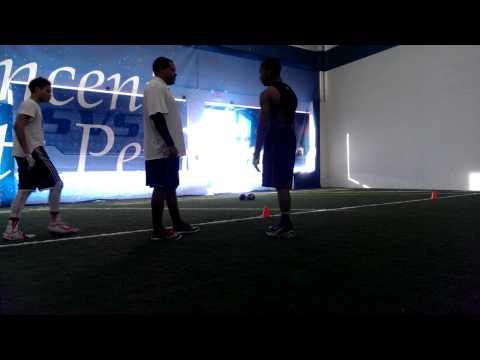 Bryan Saint Vincent's Sports Performance D.B. trai