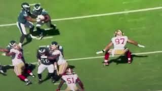 Baldy's Breakdown of 49ers Nick Bosa vs Philadelphia Eagles