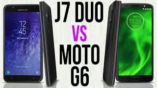 J7 Duo vs Moto G6 (Comparativo em 3 minutos)