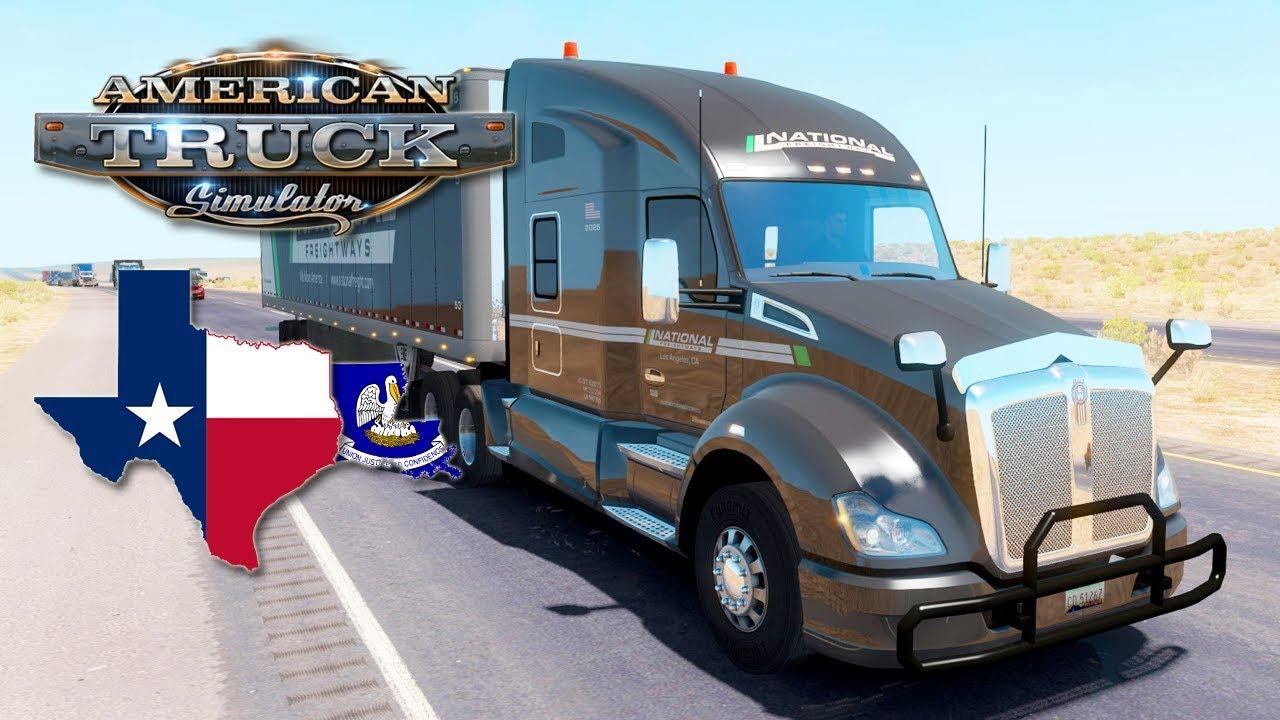 American Truck Simulator #59 (Hard Economy) - RETURNING TO TEXAS | Thursday  Week 32