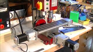 197 The Frankenstein CNC mini mill conversion comes alive