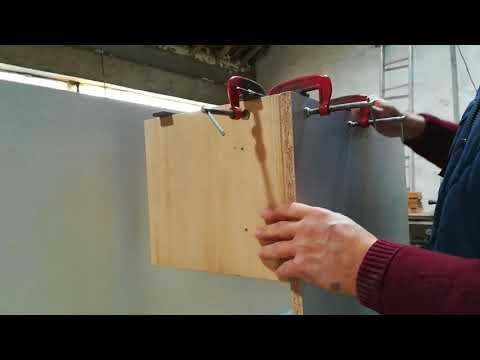 grampo auxiliar de montagem a 90º. DIY wooden corner clamp