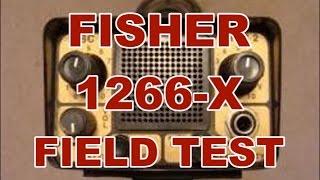 Фішер 1266-X Огляд Польових Випробувань