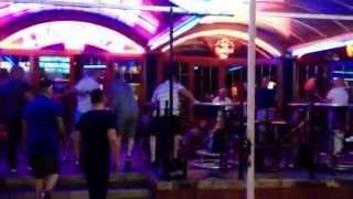 Kick off in lennon's bar magaluf