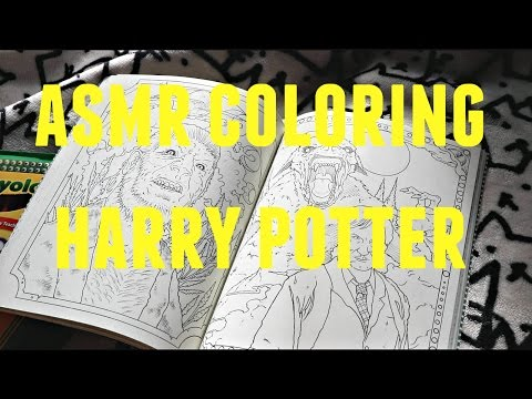asmr-coloring-harry-potter-magical-creatures