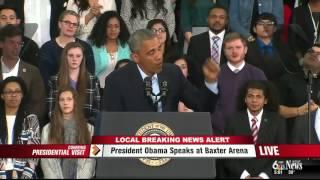 President Obama Compliments Ebola Team - Nebraska Medicine