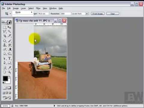 Lớp photoshop-Tùy chỉnh kích thước ảnh http://HocPhotoshop.Com