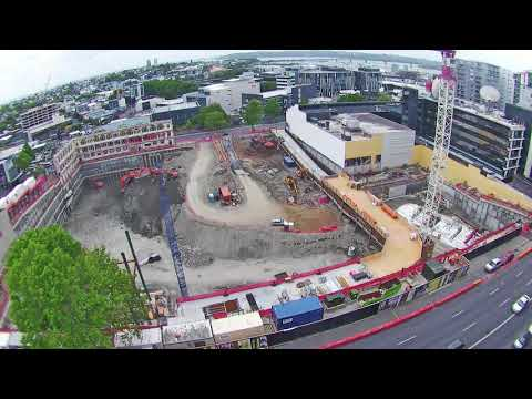 Timelapse of construction of New Zealand's largest convention centre