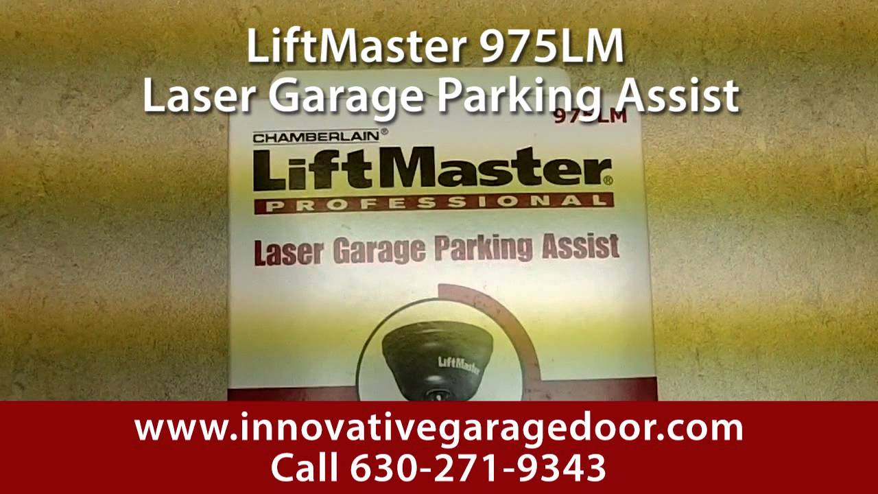 975 Liftmaster Laser Parking Assist Chamberlain