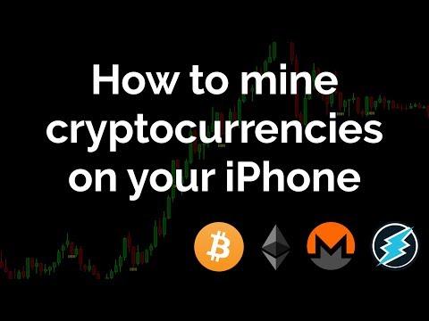 How to mine cryptocurrencies on your iPhone (Electroneum, Monero, etc.) (20171227)