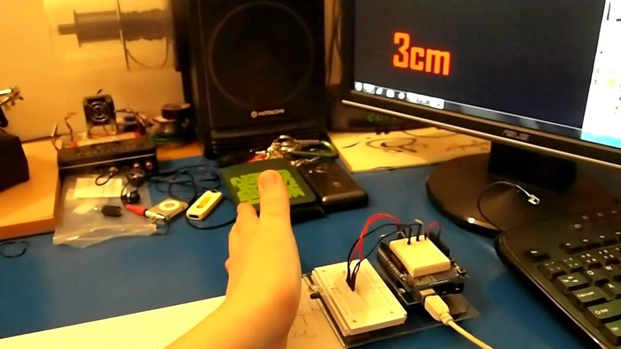 Arduino ir distance sensor youtube