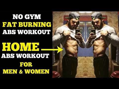 Fat Burning Abs Workout At Home | No Gym