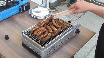Gasgrill BBQ TRAGBAR
