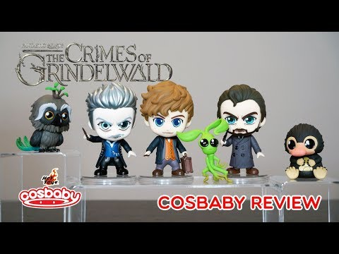 FANTASTIC BEASTS: THE CRIMES OF GRINDELWALD Cosbaby Hot Toys Review And Unbox