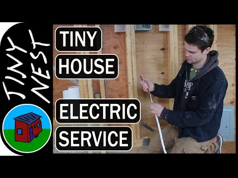 Tiny House Electrical Service (Ep.38)