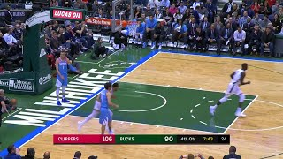 4th Quarter, One Box Video: Milwaukee Bucks vs. Los Angeles Clippers