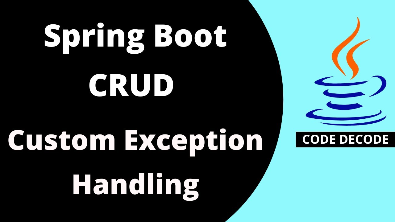 Custom Exception Handling in Spring Boot | Spring Boot Exception Handling (Live Demo)