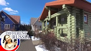 Inside Real Russian Dacha Houses for Ordinary People