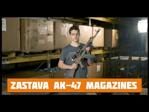 The Best Deal on AK-47 Magazines. Zastava AK-47 Steel Mags.