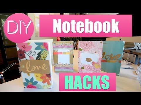 Back To School DIY Notebooks  